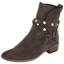 Buy See by Chloé Janis Low Heeled Ankle Boots, Asfalto Grey Online at johnlewis.com