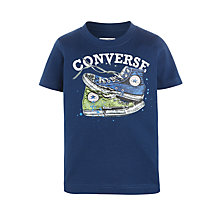 Buy Converse Boys' Mix Match Chucks T-Shirt, Navy/Multi Online at johnlewis.com