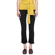 Buy Whistles Cigarette Jean, Black Online at johnlewis.com