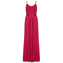Buy Ghost Zola Dress, Cerise Online at johnlewis.com