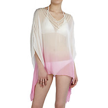 Buy Ghost Lina Kaftan, Dip Dye Cerise Online at johnlewis.com