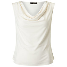 Buy Precis Petite Cowl Neck Top, Ivory Online at johnlewis.com