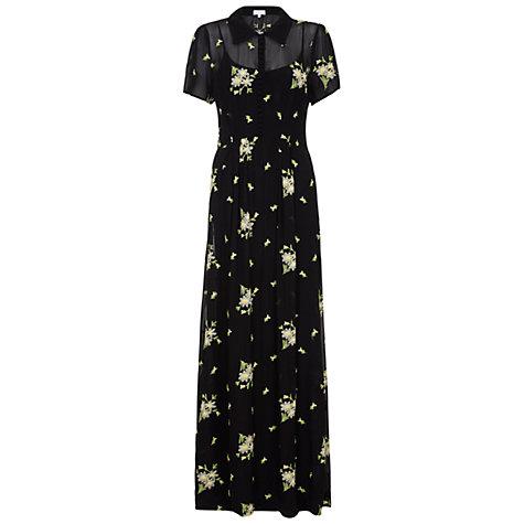 Buy Ghost Christy Dress, Black Online at johnlewis.com