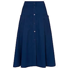Buy Whistles Edin Button Through Skirt Online at johnlewis.com