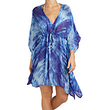 Buy Ghost Amie Kaftan, Cobalt Blue Online at johnlewis.com