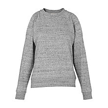 Buy Whistles Cold Shoulder Jumper, Grey Online at johnlewis.com