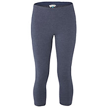 Buy White Stuff Jumping Lil Cropped Leggings, Navy Marl Online at johnlewis.com
