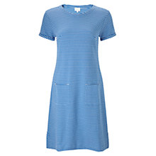 Buy East Stripe Rib Jersey Dress Online at johnlewis.com
