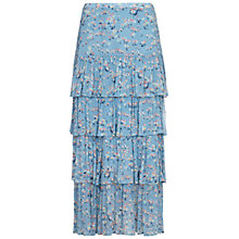 Buy Ghost Vintage Daisy Jane Skirt, Blue Online at johnlewis.com