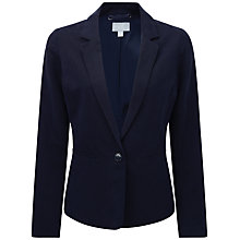 Buy Pure Collection Juliet Fitted Jacket, Navy Online at johnlewis.com