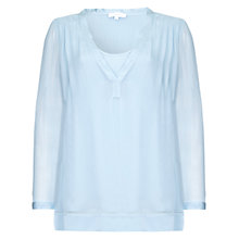 Buy Ghost Magda Top, Sky Light Blue Online at johnlewis.com