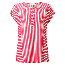 Buy East Stripe Jersey Top Online at johnlewis.com