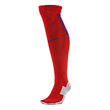 Buy Nike England Football Stadium Socks, Red Online at johnlewis.com