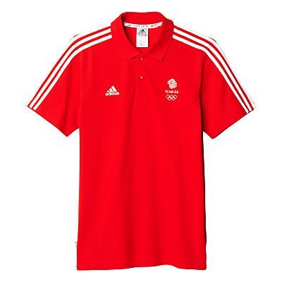 Adidas Team GB Men's Polo Shirt