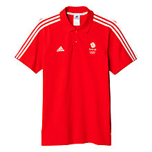 Buy Adidas Rio 2016 Olympic Team GB Men's Polo Shirt Online at johnlewis.com