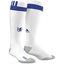 Buy Adidas Chelsea F.C. Home Socks, White/Blue Online at johnlewis.com