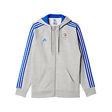 Buy Adidas Team GB Hoodie, Grey/Blue Online at johnlewis.com