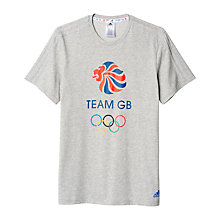 Buy Adidas Team GB Men's T-Shirt Online at johnlewis.com