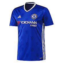 Buy Adidas Chelsea F.C. 2016/17 Home Football Shirt, Blue Online at johnlewis.com