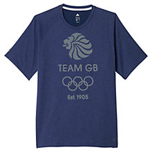 Buy Adidas Team GB 1905 T-Shirt Online at johnlewis.com