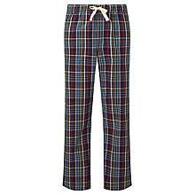 Buy John Lewis Sheffield Check Lounge Pants, Blue Online at johnlewis.com