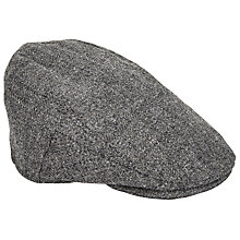 Buy Christys' Balmoral Tweed Flat Cap, Grey Online at johnlewis.com