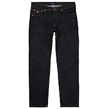 Buy Gant Regular Straight Jeans, Dark Blue Online at johnlewis.com