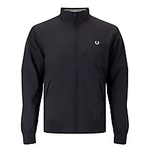 Buy Fred Perry Brentham Outerwear Jacket, Navy Online at johnlewis.com