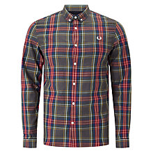 Buy Fred Perry Marl Tartan Shirt, Multi Online at johnlewis.com