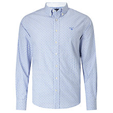 Buy Gant Gingham Dot Shirt, Nautical Blue Online at johnlewis.com