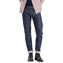 Buy Levi's 511 Slim Fit Rigid Urn Jeans, Blue Online at johnlewis.com