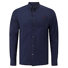 Buy Fred Perry Micro Gingham Long Sleeve Shirt Online at johnlewis.com