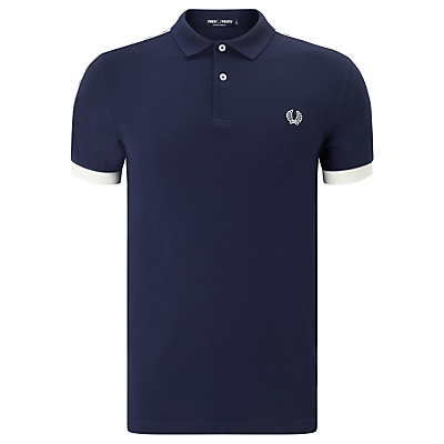 Fred Perry Taped Pique Polo Shirt