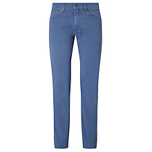 Buy Gant Desert Regular Straight Jeans, Hurricane Blue Online at johnlewis.com
