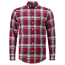 Buy Gant Heather Broadcloth Regular Fit Plaid Shirt Online at johnlewis.com