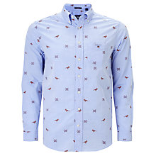 Buy Gant Conversational Shirt, Capri Blue Online at johnlewis.com
