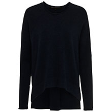 Buy French Connection Viva Vhari Long Sleeved Roll Neck Jumper, Black Online at johnlewis.com