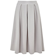 Buy Miss Selfridge Textured Midi Skirt Online at johnlewis.com