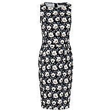 Buy Sugarhill Boutique Floral Karen Knee Dress, Black/Mink Floral Online at johnlewis.com