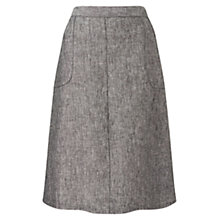 Buy East Linen A-line Skirt Online at johnlewis.com