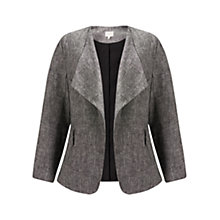 Buy East Linen Waterfall Jacket Online at johnlewis.com