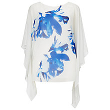 Buy Windsmoor Print Kaftan, White/Blue Online at johnlewis.com