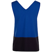 Buy Jaeger Vest Top, Blue/Navy Online at johnlewis.com