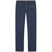 Buy Gerard Darel Denim Cacou Trousers, Light Indigo Online at johnlewis.com