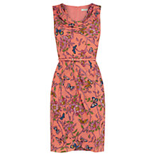 Buy Oasis Beautiful Butterfly Cowl Drape Dress, Multi Online at johnlewis.com