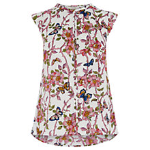 Buy Oasis Beautiful Butterfly Top, Multi Online at johnlewis.com