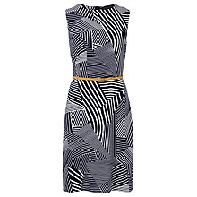 Buy Sugarhill Boutique Evelyn Stripe Dress, Navy/White Online at johnlewis.com