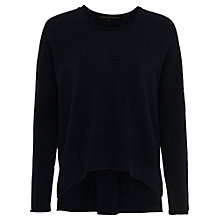 Buy French Connection Viva Vharl Jumper, Utility Blue Online at johnlewis.com