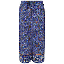 Buy Jaeger Print Trousers, Multi/Navy Online at johnlewis.com