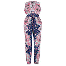 Buy Oasis Paisley Jumpsuit, Multi Online at johnlewis.com
